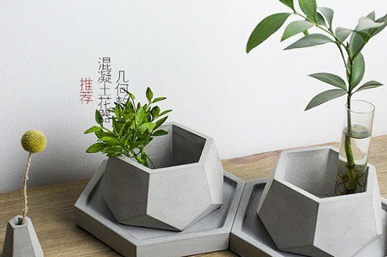 Como hacer macetas de cemento, de hormigón o concreto